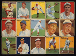 1933 Goudey Manush Oand039doul 1934 Bill Terry Baseball Card Collection 1935 1936 50