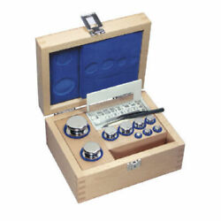 Kern 304-03 E1 1 G - 100 G Set Of Weights In Wooden