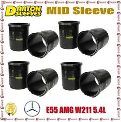 Darton 3.805 Bore 0.247 Wall Mid Sleeves For Mercedes-benz E55 Amg W211 5.4l