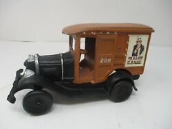 Vintage Cast Iron Delivery Type Truck U S Mail Nice Shape Toy Unbranded