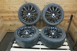 Wheel Front 18x7.5 Et43 Rear 18x9.5 Inch Et38 Maserati Ghibli Painted/bad Tire