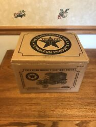 Gearbox Texaco 1913 Ford Model T Delivery Truck Limited Edition New In Box