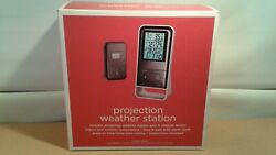 TARGET PROJECTION WEATHER STATION OPEN BOX NEW LOTS OF FEATURES READ DISC.