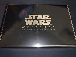 Disney Star Wars Weekends 30th The Empire Strikes Back Boxed Le 500 Pin Set