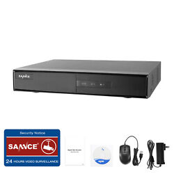 Sannce 4ch 1080n Hdmi Cctv Video 5in1 Dvr Security H.264+ Time Scheduled Motion