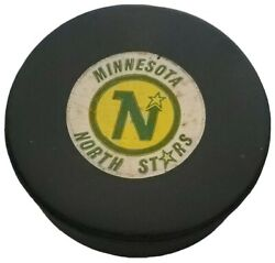 Minnesota North Stars Vintage Nhl Official Game Puck Approved Viceroy Mfg. 🇨🇦