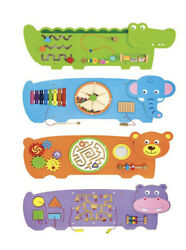 Crocodile Activity Wall For Toddlers Sensory Panel