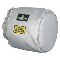 Unitherm Ih1006 10 X 10 L Fiberglass Insulated End Pipe Jacket 3 Wall