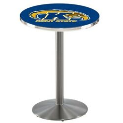 Holland Bar Stool Co. L214s3628kentst 36 Stainless Steel Kent State Pub Table