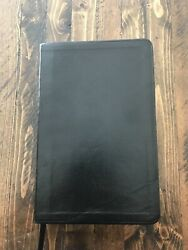 Black Leather Spanish Lds Bible Very Good No Markings Mormon 2016 Index Tabs