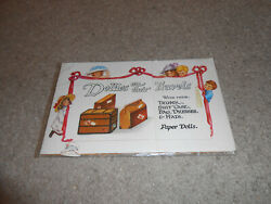 Merrimack-paper Dolls -dollies On Their Travels-1984-vintage Doll-brand New