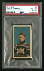 1910-11 1910 C56 Imperial Tobacco9angus Campbellpsa 4 Mchof Rookie Card