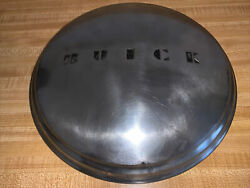 1949 Buick Roadmaster Poverty / Dog Dish Hubcaps 11and039and039 Oem Buick