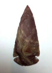 Fine Corner Notched Dovetail Projectile Point Arrowhead 3 Inches