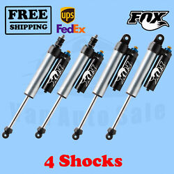 Fox Shocks Kit 4 Front 0-1.5 And Rear 0-1 Lift For Dodge Ram 3500 4wd 13-17