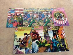 Brave And The Bold Green Arrow,butcer,question 1,2,2,3,4,5,6 Lot Of 7 Nm 92 Dc