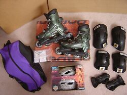 Vintage Rollerblade Viablade - Highway 7 Womenand039s Size 8/8.5 Excellent Condition