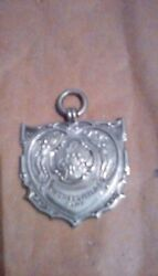 Solid Silver Mining Medals Cannock Hednesford Interest