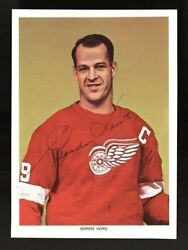1963-65 Chex Gordie Howe Autographed Period Signed Hq Card Psa/dna And Jsa Loaand039s