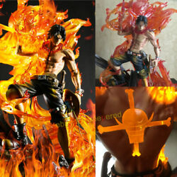 Singularity Studio One Piece Portgas·d·ace Painted 1/6 Model Resin W/ Led Statue