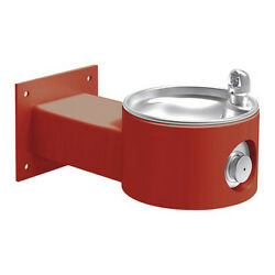 Elkay 4405red Wall Mount Yes Ada 1 Level Drinking Fountain