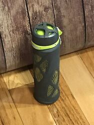 20oz Zulu Glass Water Bottles With Bpa Free Outer Silicon Sleeve
