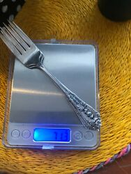 Wallace Grand Baroque Sterling Silver Salad Fork 6 5/8 No Mono Price Is Each
