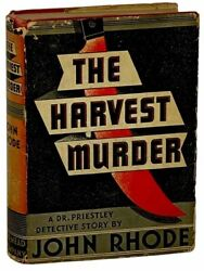 The Harvest Murder A Dr. Priestley Detective Story Red Badge Detective Series