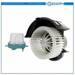 Heater Blower Motor Resistor A/c Kit For Volkswagen Touareg Front Replacement