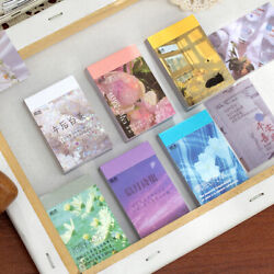 Moon Starry Sky Sticky Notes Setting Sun Stickers Label Decorate Diary Sticker
