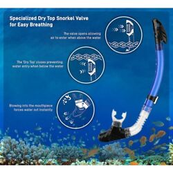 30xdiving Snorkel Breathing Tube With Silicone For Adults And Youth T8k7