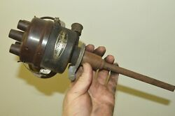 Igs-4007 1936 1937 Willys Jeep Distributor Complete Rebuilt Nos Rare Domestic