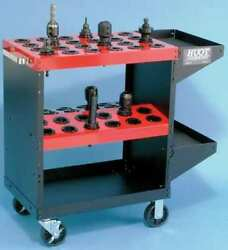 Huot 13986 18w Rolling Cabinet Red 35-1/4d X 35h