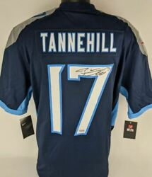 Ryan Tannehill Signed Tennessee Titans Nike Nfl Game Replica Jersey Fanatics