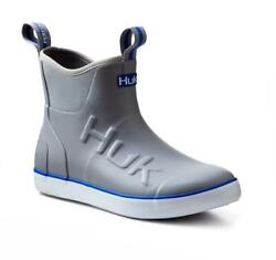 Huk Rogue Wave Menand039s Ankle Deck Boot-fishing Boating Pick Color/size - Free Ship