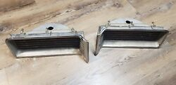 1965 1966 Amc Rambler Marlin Chrome Taillights Left And Right Oem