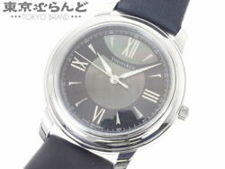 And Co. Mark Z0046.17.10a90a40a Black Shell Dial Quartz Watch Used