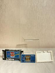 Vintage1981 Dr.dental Game And Watch Lcd Game Bandai Japan Not Nintendo Mint Boxed
