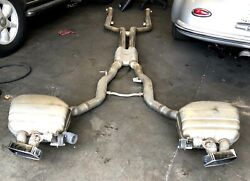 2012 Bmw 650i Convertible Complete Exhaust Pipe With Mufflers Like New. Pickup