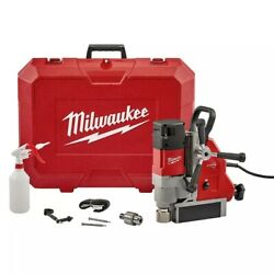 Milwaukee Corded 13 Amp 1-5/8-inch Magnetic Drill Kit