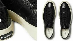 Tom Ford Cambridge Lizard Sneakers Shoes Trainers 9.5