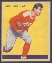 1935 National Chicle 18 Mike Mikulak High Number Sheet Eddie Casey Centered Hq