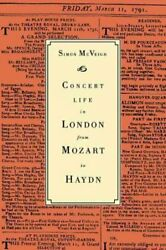 Concert Life In London From Mozart To Haydn Paperback By Mcveigh Simon Lik...