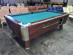 Valley Coin Operated Pool Table - Multiple Units Are Available