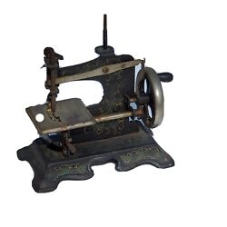 Antique 1930's Muller Childs Toy Sewing Machine This Works