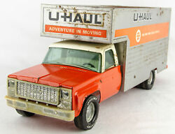 Vintage 1970s Nylint 8413 U-haul Maxi-mover 19 Pressed Steel Moving Box Truck