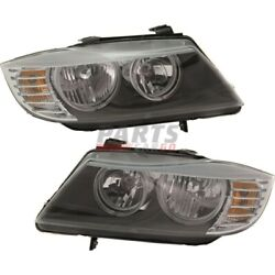 New Head Lamp Assembly Lh And Rh Fits 2009-2012 Bmw 328i 63117202578 63117202577