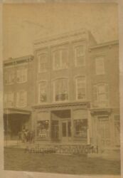 Mcconnel Andamp Bro Plumbing Stoves Tinware Store Ashland Pa Antique Photo