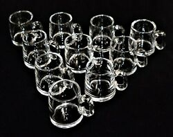 10 Vintage Steuben Crystal Espresso Punch Small Coffee Cups Mugs