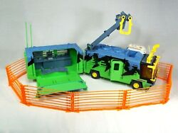 Rare Vintage Kenner Jurassic Park Chaos Effect Mobile Command Center Playset Toy